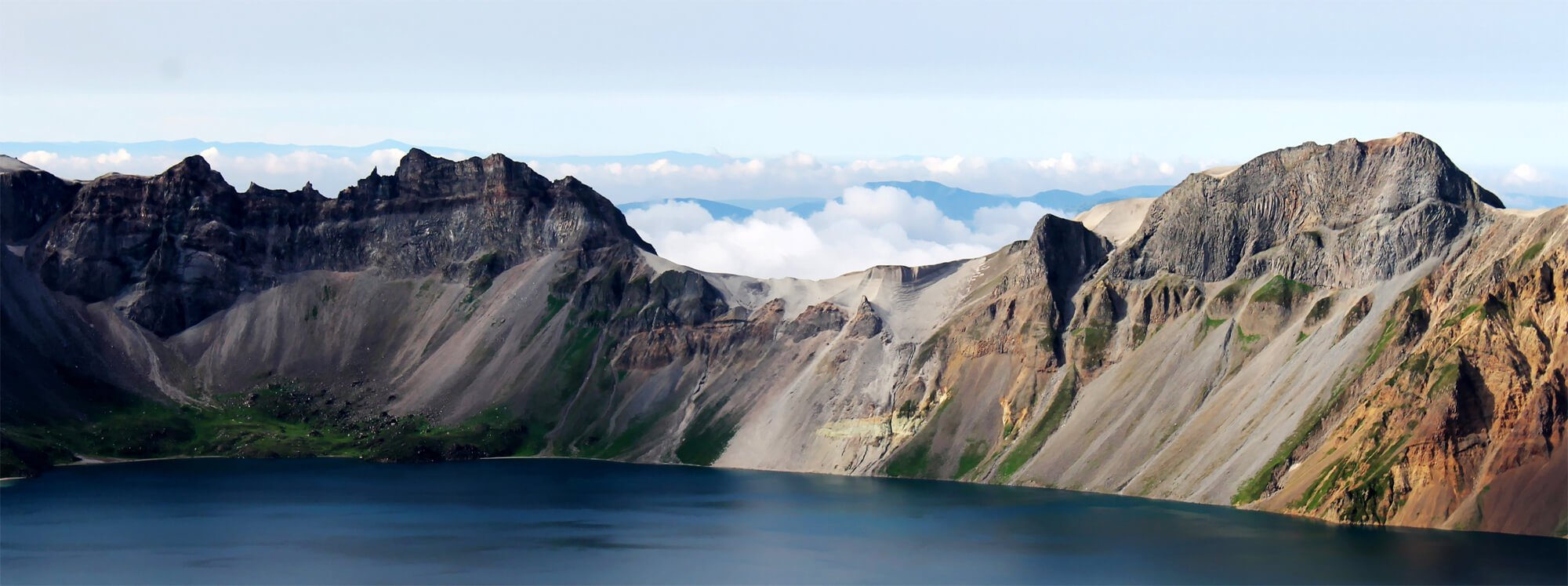 Changbai Mountain in China