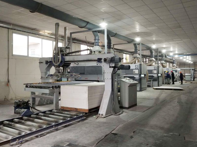 Diatomaceous Pad Polishing Line 4