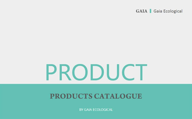 Products Catalogue 2019 GAIA