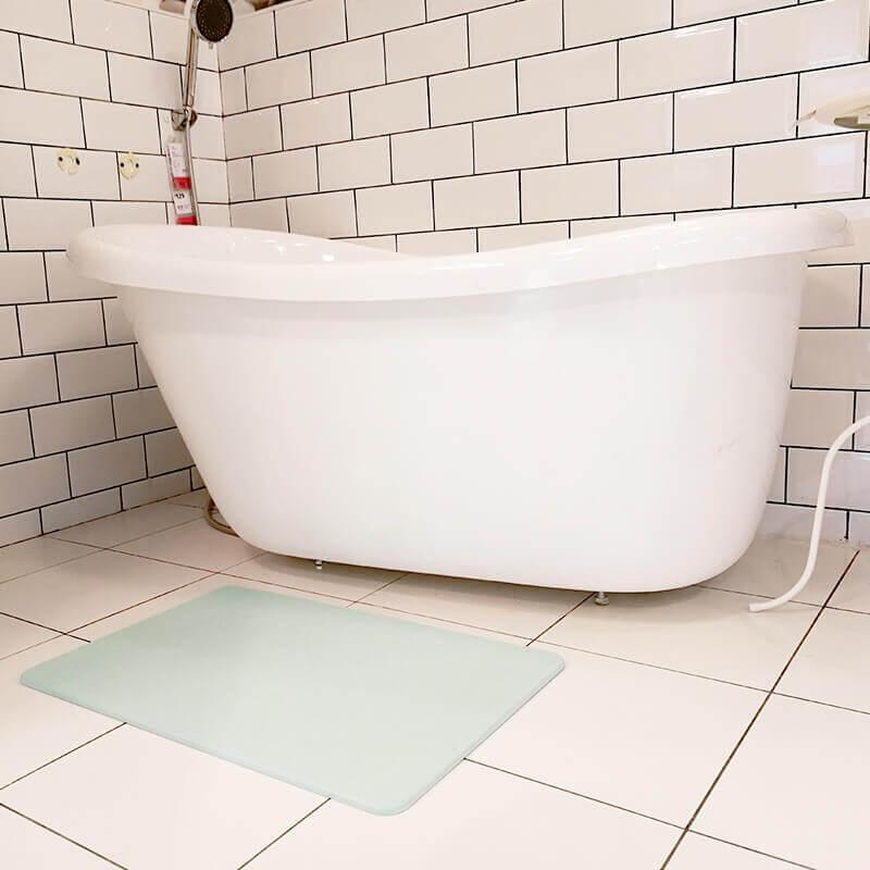 Diatomite bath mat 7