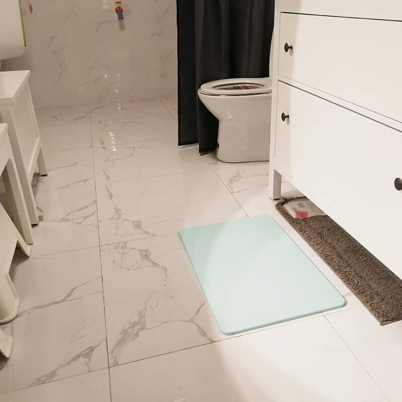 Diatomite bath mat 8